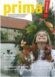 prima! Magazin - Ausgabe Oktober 2007