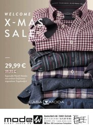 Casa Moda X-MAS SALE