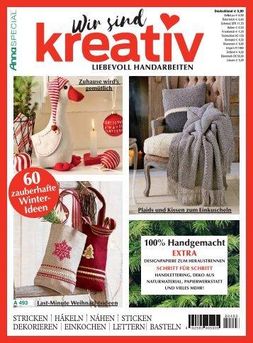 Zeitschrift: Wir sind kreativ (A493)