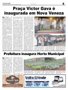 Jornal Volta Grande | Edição 1144 Forq/Veneza - Page 5
