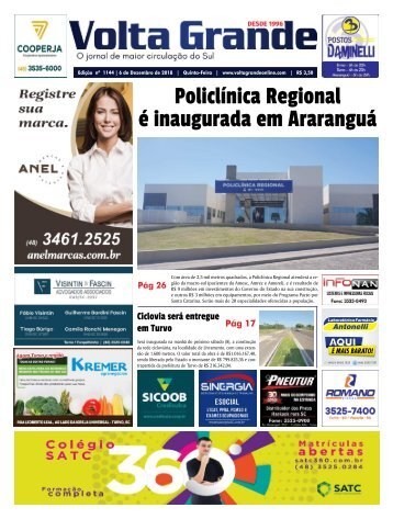 Jornal Volta Grande | Edição 1144 Região
