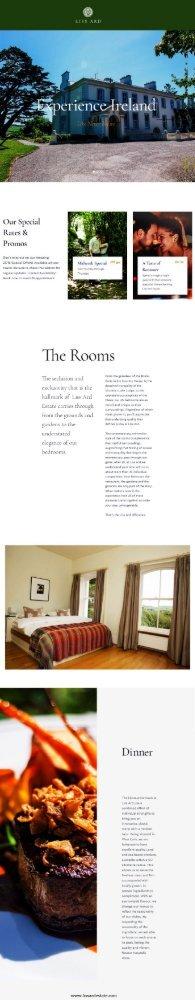 small wedding venue Ireland  -Liss Ard Estate