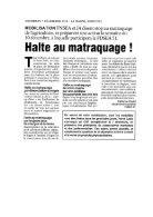 Panorama de presse quotidien du 07-12-2018 - Page 5