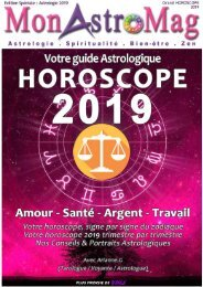 BALANCE - Grand Horoscope 2019