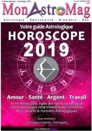 SAGITTAIRE - Grand Horoscope 2019