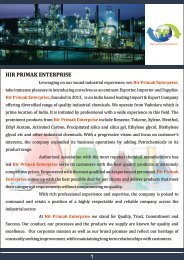 export import chemical company