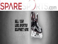 Sell Used Sports Equipment
