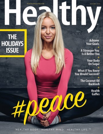 Healthy Magazine Holidays Issue 2018