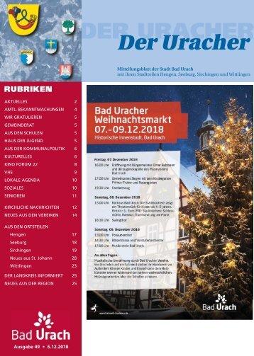 Der Uracher KW 49-2018