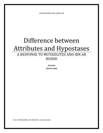 395145501-ATTRUBTES-ARE-NOT-HYPOSTASES-29-03-1440-AH