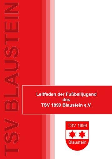 Leitfaden der Fussballjugend des TSV Blaustein