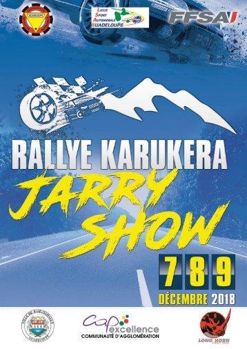 Programme Rallye Karukera Jarry Show 2018
