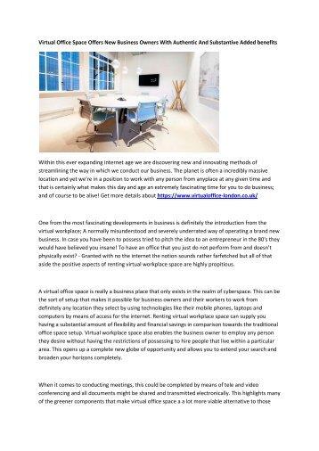 6 London Virtual Office