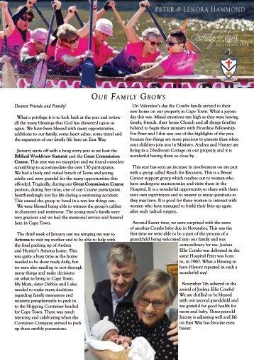 Family News 2018