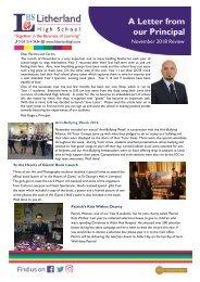 Principals Letter Nov 2018  DSc