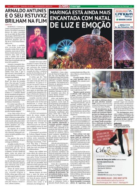 012 - O FATO MARINGÁ -DEZEMBRO 2018 - NÚMERO 12 (MGÁ 05)