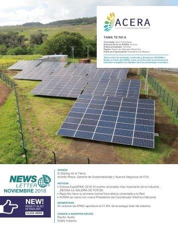 Newsletter ACERA - Noviembre 2018