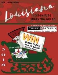 Louisiana Sleigh Ride Shopping Guide 2018 Delta Edition