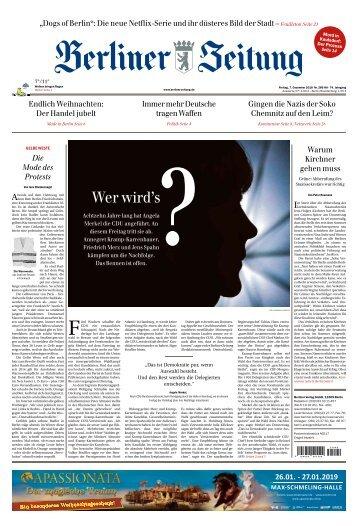 Berliner Zeitung 07.12.2018