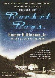 ~!PDF Rocket Boys (Coalwood #1) #*BOOK Homer Hickam