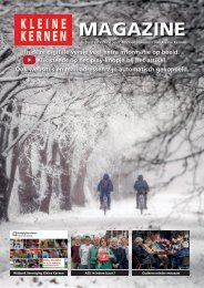 Kleine Kernen Magazine winter 2018