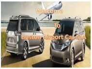 Private Airport Transportation Boston