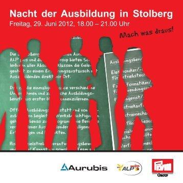 Nacht der Ausbildung in Stolberg - Aurubis Stolberg