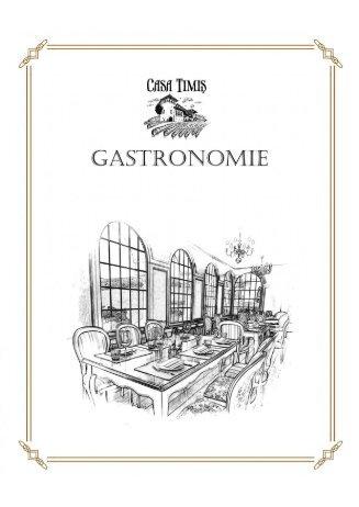 Conacul Casa Timis - Meniu Gastronomie