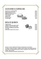 Conacul Casa Timis - Meniu Gastronomie - Page 6