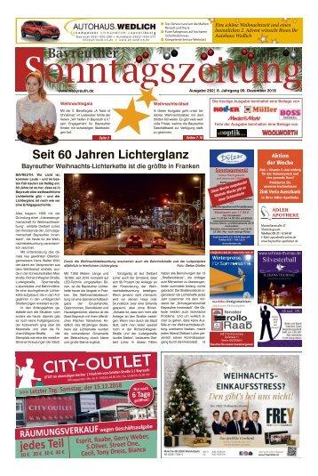 2018-12-09 Bayreuther Sonntagszeitung