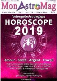 SCORPION - Grand Horoscope 2019