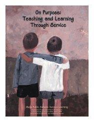 Mesa Public Schools Service Learning -  Learn and Serve Arizona