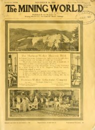 Mining and Engineering World 1910, Volume 33 No.22