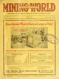 Mining and Engineering World 1916, Volume 44 No.23