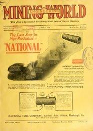 Mining and Engineering World 1916, Volume 44 No.25