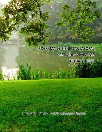 PROGRAMA DE BIENESTAR