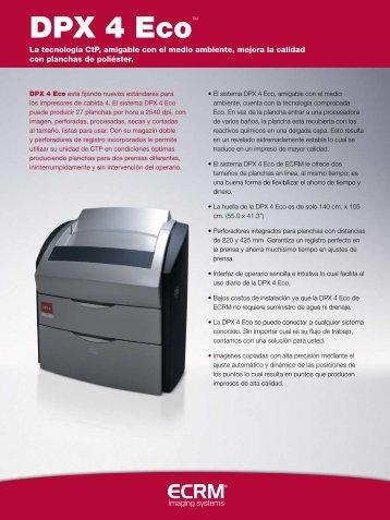 DPX 4 Eco - Mitsubishi Paper