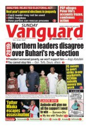 09122018 - 2019: Northern leaders disagree over Buhari's re-election