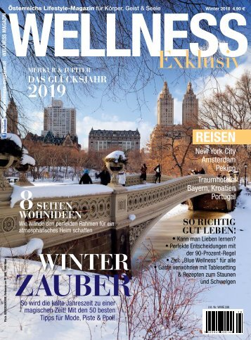 WELLNESS Magazin Exklusiv - Winter 2018