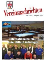 VfV Hildesheim - Vereinszeitung 3/2018