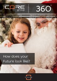 Core Newsletter - Issue 21 - Fourth Quarter - December 2018