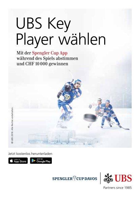 SPENGLER CUP DAVOS - Programm 2018