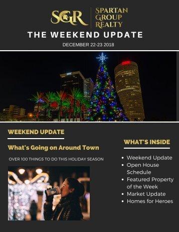 The Weekend Update: December 8-9, 2018