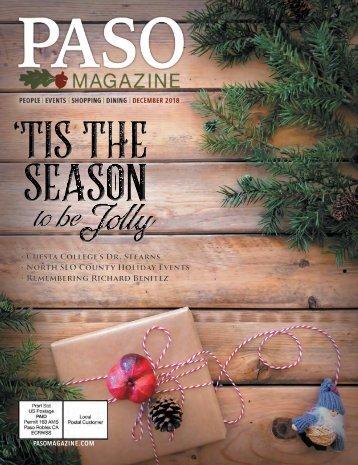December 2018 Paso Robles Magazine