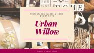 Online Shop of Premium Homewares & Home Decor Gifts - Urban Willow