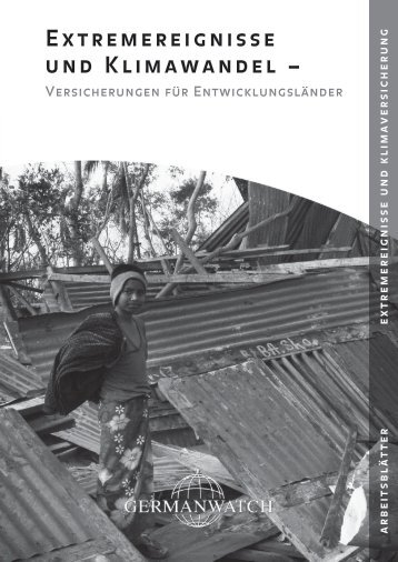 Arbeitsblätter: Extremereignisse und Klimawandel - Versicherungen ...