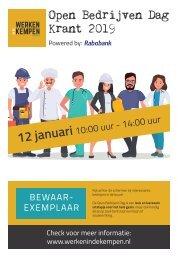 Open Bedrijven Dag Krant