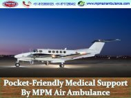 Air ambulance service in Chandigarh at low-cost range