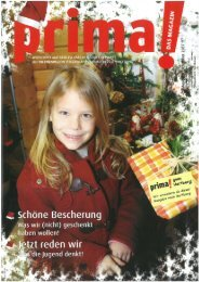 prima! Magazin - Ausgabe Dezember 2007