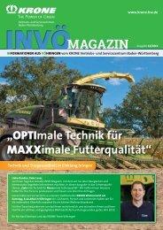 KRONE INVÖ Magazin Ausgabe 12/2018